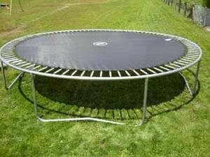 ressort sur trampoline