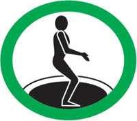 règle sécurité trampoline aprendre à arrêter