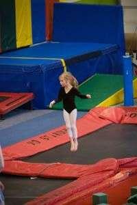 trampoline de compétition