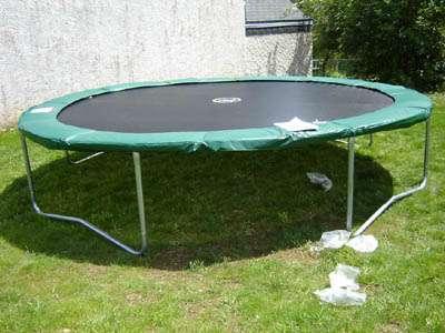 trampoline de jardin proline 14
