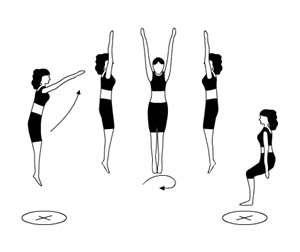 saut trampoline les vrilles
